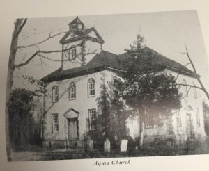 Aquia Church, Stafford County.