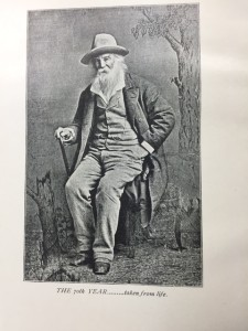 Walt Whitman at 70.