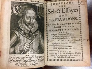 title page walter raleigh
